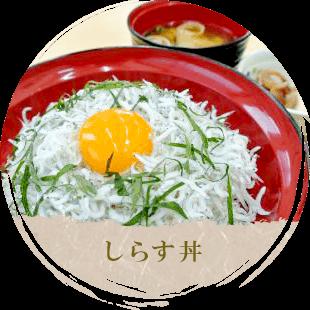 姫路市網干魚吹津内のしらす・海鮮丼のお食事処「海幸」 しらす丼